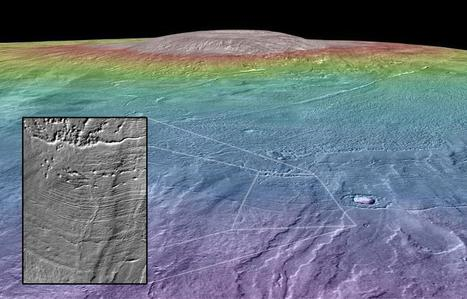 A habitable environment on Martian volcano?   Geology   Scoop.it