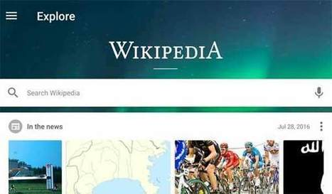 The Newly Redesigned Wikipedia Android App | web2Partner | Scoop.it