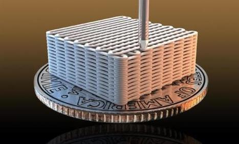 Livermore researchers create energy-storing 3D printed liquid smoke aerogel | 3D_Materials journal | Scoop.it