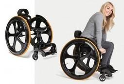 Carbon Black Wheelchair - A sweet dream come true | Wheelchairs | Scoop.it