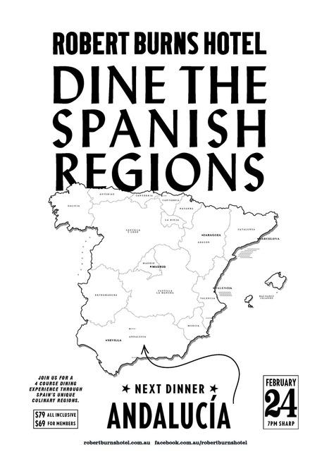 Dine the Spanish Regions - Andalucia : Robert Burns Hotel | Robert Burns Hotel | Scoop.it