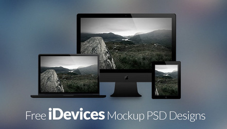 40 Free Apple Devices Mockup PSD Designs | Inspired By Design | Scoop.it