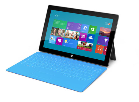 Tablettes : chassé-croisé de « Surface » chez Microsoft - Linformatique.org | CONNECT IT CARAIBE | Scoop.it