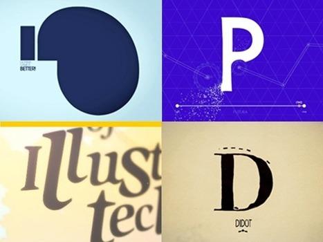 Typography In Motion | Data Visualization & Open data | Scoop.it