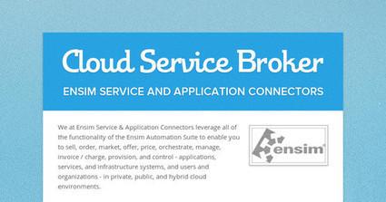 Ensim: Cloud Service Broker | Cloud Marketplace | Scoop.it