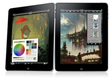 10 best iPad art apps for painting and sketching | Use of iPads in HE | Scoop.it