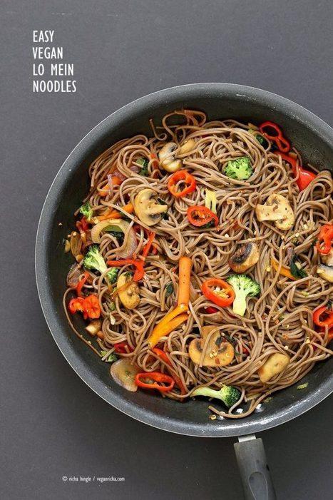 Vegan Lo Mein with Soba Noodles - Vegan Richa | Vegan Food | Scoop.it