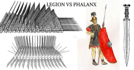 Legion Vs Phalanx: Which powerhouse Formation was better? | Cultura Clásica | Scoop.it