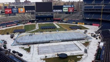 Stadium's hockey makeover continues ... - ESPN (blog) | Sports Facility Management.4254828 | Scoop.it