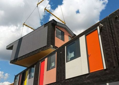 Y:Cube is an economical and innovative housing solution prototyped in Mitcham, Surrey,   Costruzioni   Scoop.it