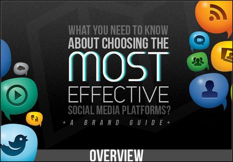 Aprende cuáles son las redes sociales más efectivas para tu empresa [Infografía]   MKTips   Scoop.it