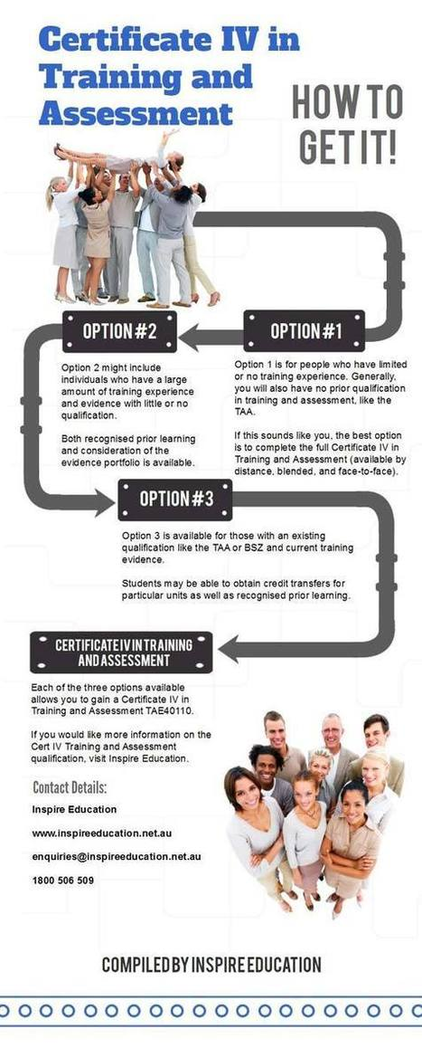 Alternative Routes to the Cert IV Training and Assessment | Training and Assessment | Scoop.it