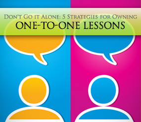 Don't Go it Alone: 5 Strategies for Owning One-to-One Lessons   afc   Scoop.it