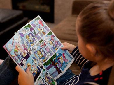 Reading with Pictures: Serious Learning Through Comics - Edutopia | Lesson Plans | Scoop.it