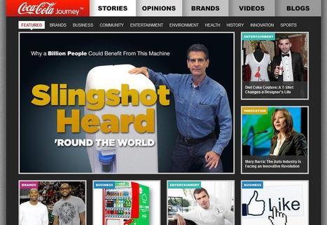 Coca-Cola investit à fond dans le contenu éditorial | Management, Entreprise vivante, Réseaux sociaux d'entreprise, | Scoop.it