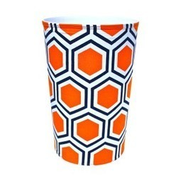Roma Orange Canvas Wastebasket | Best Collection of Home Decor | Scoop.it
