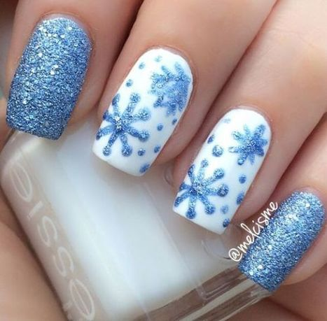 Christmas nails design idea 30 – Imagine | Fashion Home decor Tattoos Beauty Pictures | Scoop.it