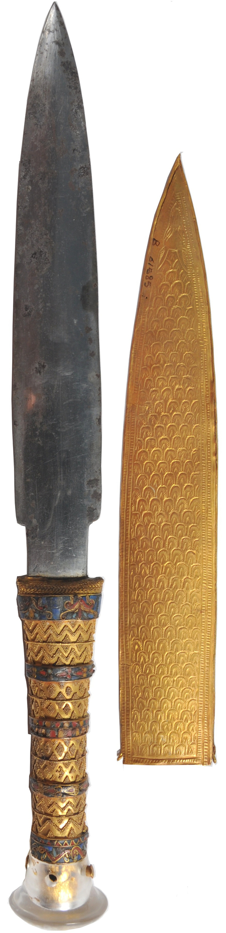 King Tutankhamun's dagger was made from a meteorite by Abdelrazek Elnaggar | International Institute for Conservation of Historic and Artistic Works | News in Conservation | Scoop.it