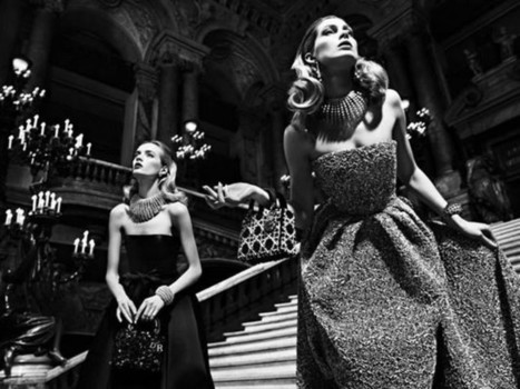 DIOR AT THE OPERA GARNIER IN PARIS / READY TO WEAR FALL 2013 / | fashion on dapaper mag | Scoop.it