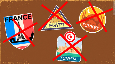 Turkey, France, Egypt, Tunisia: Losing millions of tourists   Human Geography   Scoop.it