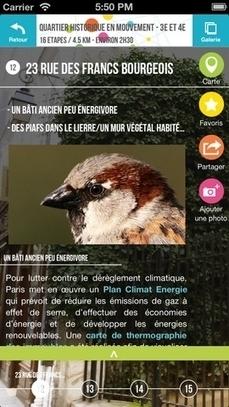 Une nouvelle application gratuite pour découvrir le Paris écologique   Ca m'interpelle...   Scoop.it