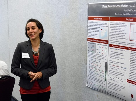 Andie Faber presents her work on Asturian  and its interference in Spanish spoken in the north of Spain. | The UMass Amherst Spanish & Portuguese Program Newsletter | Scoop.it