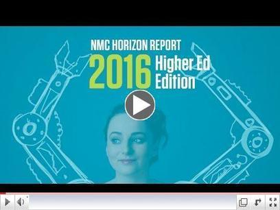 NMC and EDUCAUSE Learning Initiative Release th NMC Horizon Report > 2016 Higher Ed Edition | aect | Scoop.it