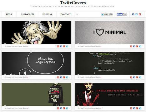 Une banque d'images gratuites pour votre couverture Twitter | Mes Scoop it! | Scoop.it