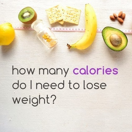 How many calories do I need to lose weight? | Fitness and Health | Scoop.it