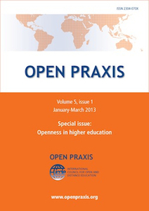 Open Praxis Vol 5, No 1 (2013) - Special edition: Openness in Higher Education | Open Educational Resources (OER) | Scoop.it