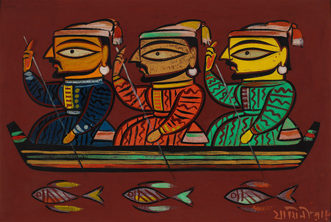 Harn Museum of Art conserves paintings by Jamini Roy through a generous donation | Art Daily | Kiosque du monde : Asie | Scoop.it