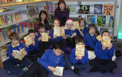 Patron encourages schoolchildren to read for pleasure | The Irish Literary Times | Scoop.it