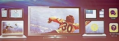 TV connectée : 10 ans de chaos devant nous !   second screen   Scoop.it