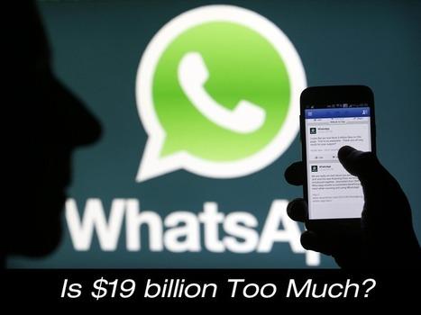 Is $19 billion Too Much for WhatsApp? | Social Media Marketing | Scoop.it