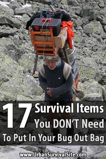 17 Survival Items You DON'T Need In Your Bug Out Bag | BOB to BOL by BOV | Scoop.it