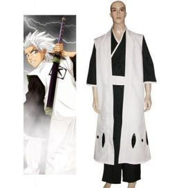Toushiro Costumes, Bleach 10th Division Captain Toushiro Hitsugaya Cosplay Costume -- CosplaySuperDeal.com   cosplaysuperdeal   Scoop.it