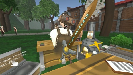 Craft Keep VR Turns You Into The Blacksmith From Roleplaying Games | REALIDAD AUMENTADA Y ENSEÑANZA 3.0 - AUGMENTED REALITY AND TEACHING 3.0 | Scoop.it