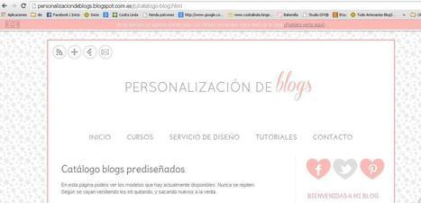 Blog Recomendado: Personalización de blogs | Handmade Crafts | Creativity | Scoop.it