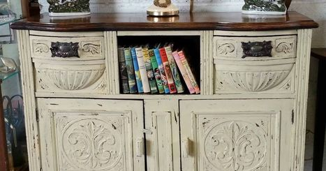 Vintage values: How to make an entrance with upcycled hallway furniture | Upcycled Objects | Scoop.it