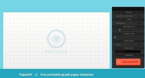 Des quadrillages au millimètre, Paperkit | Education & Numérique | Scoop.it