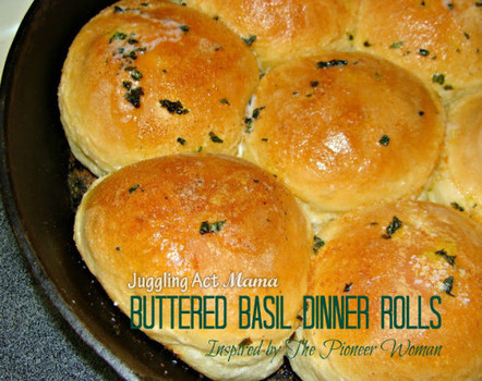 Buttered Basil Dinner Rolls | Food Recipes | Scoop.it