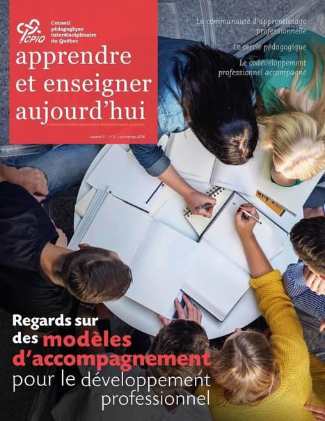 Apprendre et enseigner aujourd'hui - Vol.5 No.2 (CPIQ) | Pour une pratique réflexive en enseignement collégial | Scoop.it