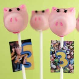 Hamm Cake Pops | Food | Disney Baking Recipes | Scoop.it
