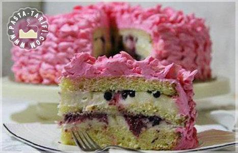 Fırfırlı Doğum Günü Pastası | Pasta Tarifleri | Scoop.it