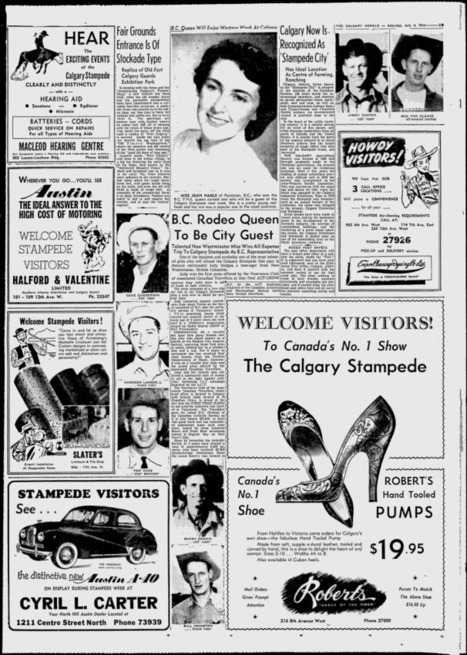 The Calgary Herald - Google News Archive Search   Calgary Stampede Through the Years   Scoop.it