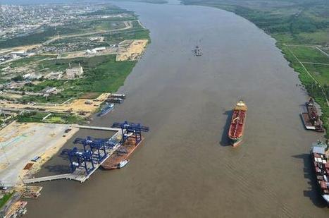 Rio Magdalena Puerto de contenedores de #Barranquilla en Construcción @arqronin:   Caribe Colombiano   Scoop.it