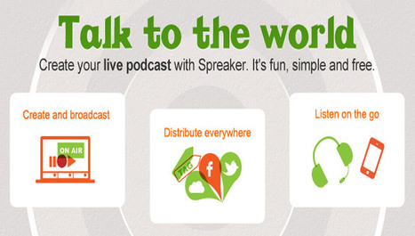 Spreaker raggiunge 1 milione di utenti registrati | InTime - Social Media Magazine | Scoop.it