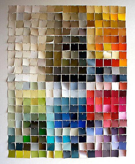 25 DIY Wall Art Ideas | Designer | Scoop.it