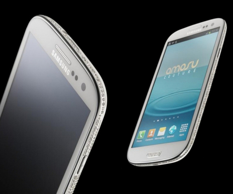 Samsung Swarovski Galaxy S3 - Expensive Places | Gadgets and Gadgets | Scoop.it
