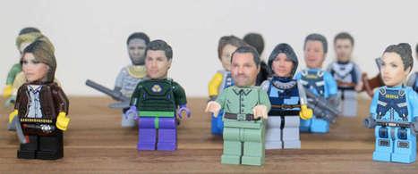 Een 3d-print van jouw eigen hoofd in LEGO | Sociale netwerken | Scoop.it